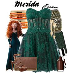 """Merida Prom"" by amarie104 on Polyvore"