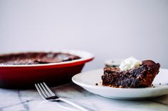 A rich chocolate chess pie with a peanut butter Do-Si-Do crust, utilizing an often overlooked Girl Scout cookie.