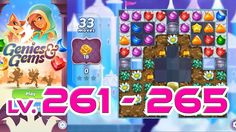 Genies & Gems - Level 261 - 265 (1080p/60fps)