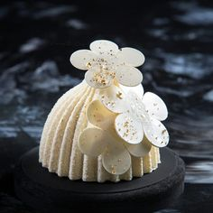 Black and White Production ❤ Small Desserts, French Desserts, Mini Desserts, Plated Desserts, Beautiful Desserts, Beautiful Cakes, Pastry Art, Chocolate Decorations, Chocolate Art