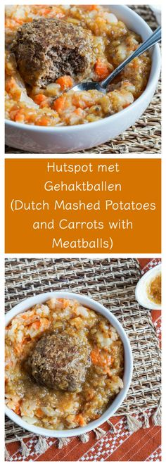 Hutspot met Gehaktballen (Dutch Mashed Potatoes and Carrots with Meatballs) and Amsterdam: Rijksmuseum, Anne Frank Huis - Tara's Multicultural Table Amish Recipes, Beef Recipes, Cooking Recipes, Traditional Dutch Recipes, Netherlands Food, Amsterdam Netherlands, Goulash, Savoury Dishes, General Tso
