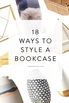 Your bare bookshelf is going to look SO good