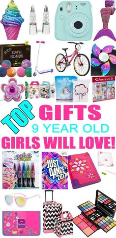 Best Gifts 9 Year Old Girls Will Love Girl BirthdayBirthday