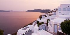 ...at the Canaves Oia Hotel - Santorini. #Jetsetter