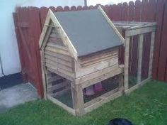 chicken coop made from pallets - Google Search