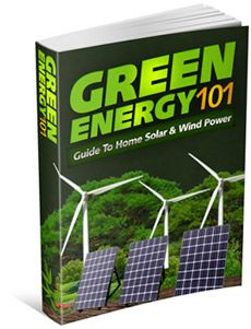 Green Energy 101, ebook. Learning how to build and instal solar panels.