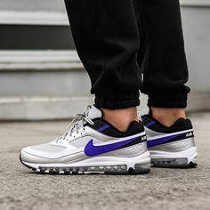 pretty nice 6b949 a97a0 Nike Air Max 97   BW (Metallic Silver   Persian Violet - Black). Nike Air  Max 97   BW   EU 40 – 47.5   189€   check link in bio  asphaltgold   darmstadt ...