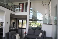 A home that will always take your breath away! Contemporary, Urban luxury home design inspiration! Hoxton Homes - Butterfly Showhome now building in WestPointe of Windermere Beautiful Home Designs, Beautiful Homes, Windermere, Luxury Homes, Architecture Design, Stairs, Design Inspiration