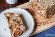 Het recept van osawacake is gebaseerd op de macrobiotische broden van George Ohsawa. Dit notenbrood met rijst moet je een keer geproefd hebben. Enjoy! Vegan Sweets, Healthy Treats, Healthy Food, Cakes And More, Cake Cookies, Banana Bread, Breakfast Recipes, Good Food, Desserts