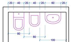 Risultati immagini per ingombro water e bidet Bathroom Spa, Bathroom Layout, Bathroom Interior, Modern Bathroom, Small Bathroom, Bathroom Floor Plans, Bathroom Flooring, Mini Bad, Small Space Interior Design