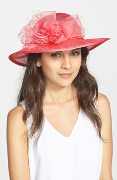 August Hat Straw Derby Hat available at #Nordstrom