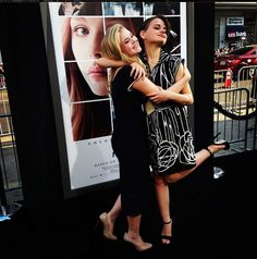 A.N.T. Farm's Sierra McCormick and Fargo's Joey King being adorable at the If I Stay Premiere!