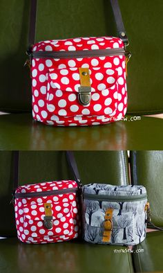 Nicky Camera Bag PDF Pattern - ithinksew.com