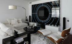 futurismus kunst wandgestaltung kreise