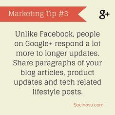 #GooglePlus #Marketing #SocialMedia