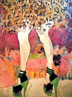 "Saatchi Online Artist Sandy Welch; Painting, ""STEPPIN OUT"" #art"