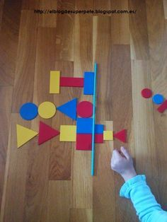 Symmetrie - Ben je op zoek naar logiblokken? http://credu.nl/product/logiblokken/