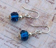 These Glamorous Glass Bead Earrings are just so stunning!