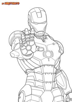 iron man art - Google Search