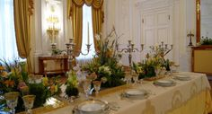 Signature table setting at Petroff Palace for the gala event by White Sposa Russia. Design, concept and flower arrangements by Fabio Zardi Luxury Wedding, Destination Wedding, Event Planning, Wedding Planning, Meeting Planner, Wedding Decorations, Table Decorations, Gala Dinner, Event Styling