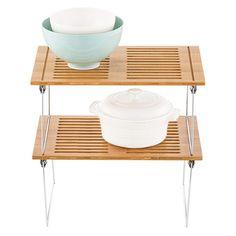 Medium Bamboo Stacking Shelf