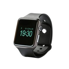 Lincass D Watch Bluetooth Smart Watch D Wrist Smartwatch Oled Screen with Sync Calls SMS Phonebook Pedometer Sleep Monitor for Samsung HTC Huawei Android Smartphones (Black) Smartwatch, Wrist Watch Phone, Sony, Hands Free Phone, Bluetooth Watch, Remote Camera, Wearable Technology, Technology Gadgets, Android