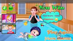 Baby Hazel Swimming Time Best Baby Games || Baby Hazel Game Play Video https://youtu.be/QmWBd6e5G1I