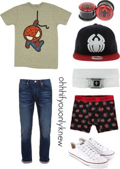"""""""Spiderman"""" by ohhhifyouonlyknew on Polyvore"""