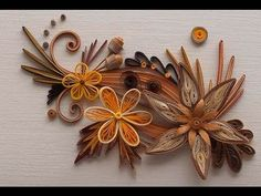 Quilling Made Easy # How to make the petal of a flower using hair comb -...