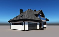 projekt Alicja N 2G+ Home Building Design, Building A House, Home Fashion, Gazebo, House Plans, Sweet Home, Outdoor Structures, Cabin, House Styles