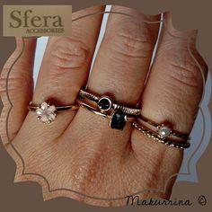 Lote de 5 anillos de Sfera (SS15) por 3,50€. Ref. 590.144.15992