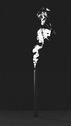 burning candle animated gif pic