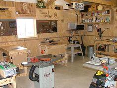 Shop ideas. | Garage | Pinterest