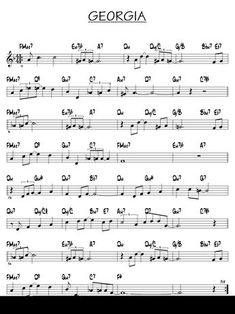 Alto Sax Sheet Music, Jazz Sheet Music, Saxophone Music, Violin Sheet Music, Sheet Music Pdf, Piano Music, Tenor Sax, Piano Jazz, Jazz Guitar Lessons