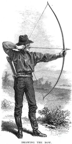 Archery, 19th Century Photograph  - Archery, 19th Century Fine Art Print