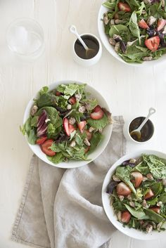 The Perfect Strawberry Summer Salad