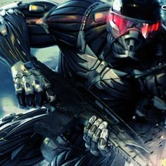 Crysis 2 video game wallpaper art by Crytek.