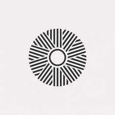 A new geometric design every day Design Lotus, Mandala Design, Op Art, Geometric Designs, Geometric Shapes, Tattoos Mandala, Geometric Tattoos, Branding Design, Logo Design