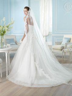 ARGEL / Wedding Dresses / Glamour 2014 Collection / San Patrick (back)
