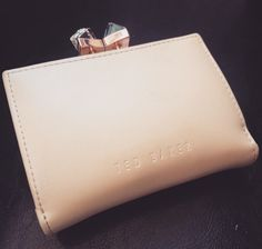My own wallet from Ted Baker #WedWithTed @Tedbaker