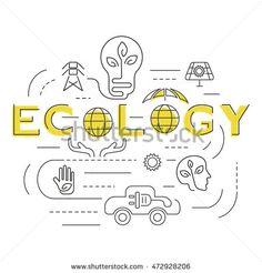 Ecology template. Ecology banner. Ecology symbols. Ecology website. Ecology set. Ecology icons. Ecology thin line. Ecology design. Ecology vector. Ecology illustration. Ecology eps. Ecology art