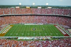 Red River Rivalry in Cotton Bowl Stadium  - 2011 State Fair of Texas