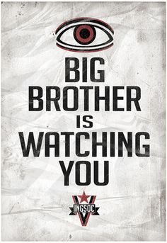 Big Brother is Watching You 1984 INGSOC Political Poster Poster at AllPosters.com