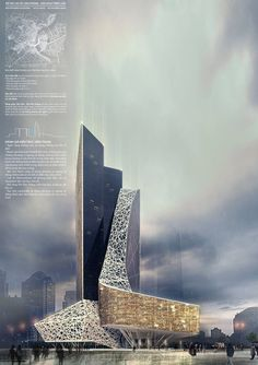 Future of Urban Skyscraper Share and follow us @ropphire #ropphire #love #futuristic #urban #skyscraper #highrise #building #structure #pavilion #eco #friendly #green #sustainable #plan #luxurious #iconic #style #picoftheday #followme