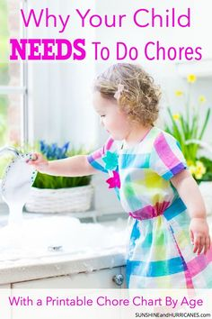You want to raise empowered, not entitled kids - right? Well, chores are a big part of teaching kids responsibility, life skills and even caring for others. Plus, believe it or not, kids who do chores are generally happier and more self-confident because they know they can contribute in a positive way to their family. The only issue these days and many parents don't know what are age appropriate chores for children. Here's all you need to know about chores for children including a handy…