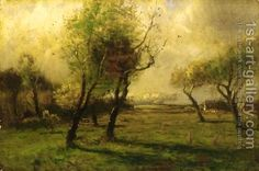 Autumn Glow John Francis Murphy | Oil Painting Reproduction | 1st ...