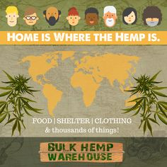 We are on a mission to bring FOOD SHELTER & CLOTHING to Millions around the world with #HEMP! Let's make it hemppen! Shelter Me, Hemp, Warehouse, Clothing, Food, Outfits, Essen, Meals, Magazine