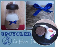 upcycled #string #jar