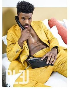 "21 year old actor, TREVOR JACKSON, is one of the cutie pies climbing his way to the top of the ""young black actor"" roster. growing up, trevor jackson has delivered his acting and signing skills on. Trevor Stines, Trevor Donovan, Trevor Jackson, Diggy Simmons, Yellow Peril, Black Actors, Hot Hunks, Grown Man, Male Beauty"