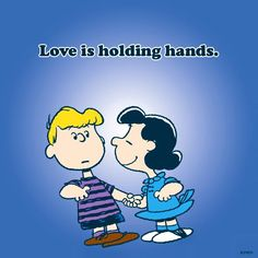 Love is holding hands